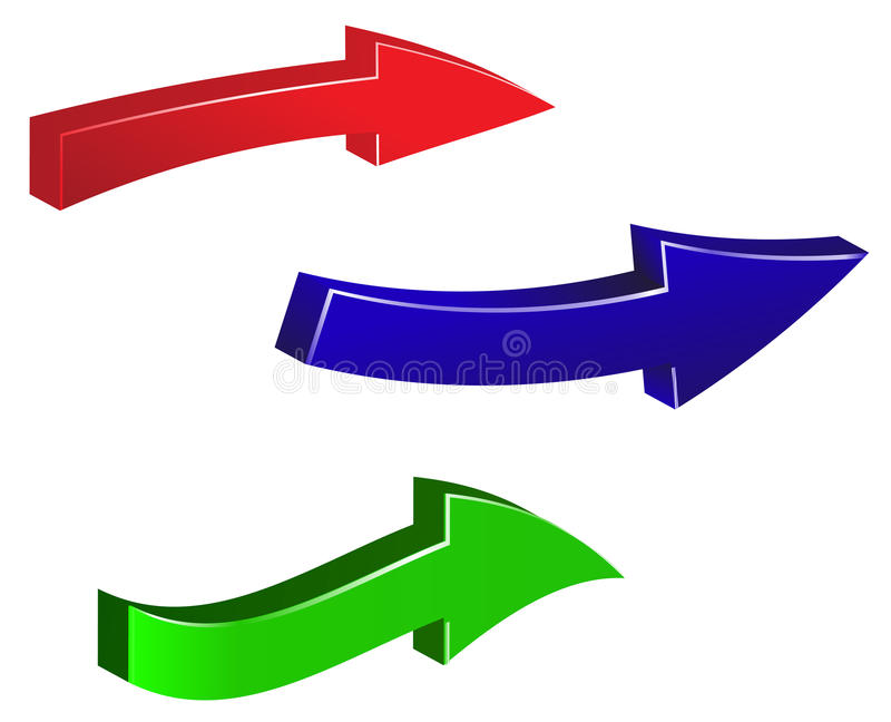 sistema-de-flechas-coloridas-en-el-fondo-blanco-ejemplo-verde-rojo-azul-de-la-flecha-59072762